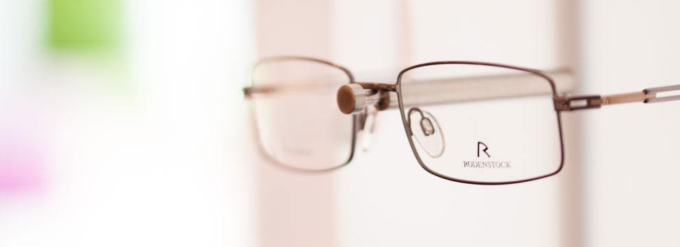 Banner Bild Brillenfassungen